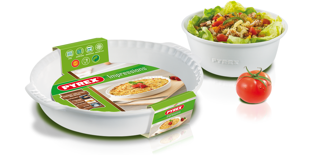 Packaging Impressions pour Pyrex
