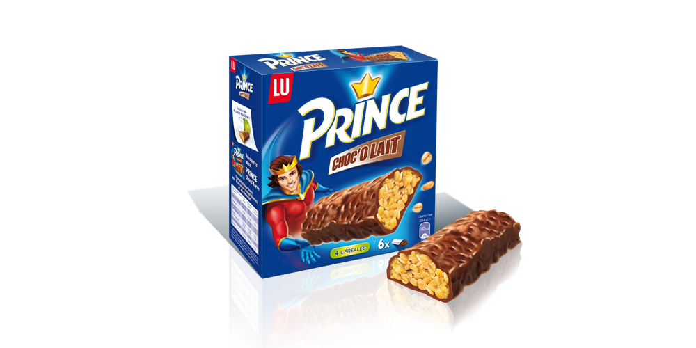 Packaging Prince de LU
